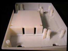 Smooth surfaces and crisp details make PolyJet patterns mold-ready