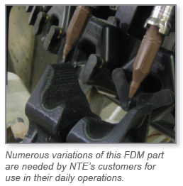 FDM gives Nova Tech Engineering virtually limitless design freedom at a fraction of the time and cost