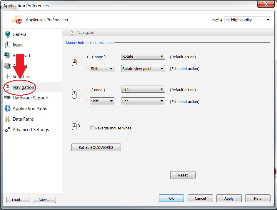Customize Your Mouse Buttons in SOLIDWORKS Composer