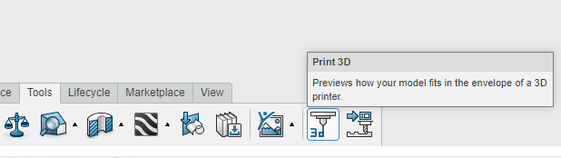 03 3D Print tool
