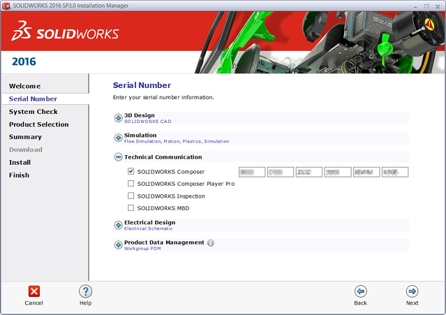 SOLIDWORKS Composer Installation
