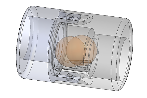 1st Printed Prototype FCN-Trap Design