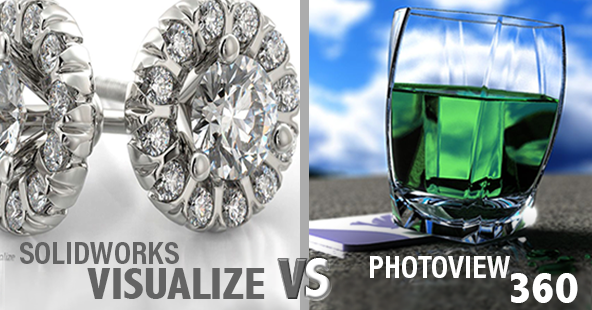 SOLIDWORKS Visualize vs PhotoView 360
