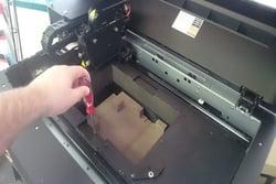 Prepare Objet Desktop Printer for Transport