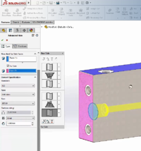 SOLIDWORKS 2017 Advanced Hole