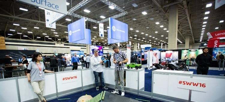 The Partner Pavilion at SOLIDWORKS World