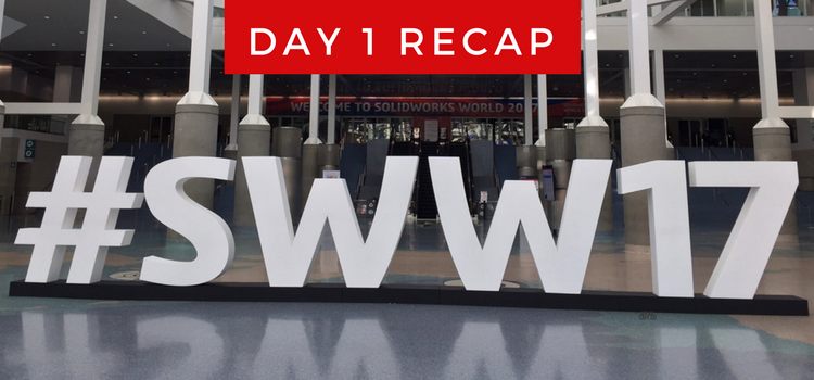 SOLIDWORKS World, Day 1