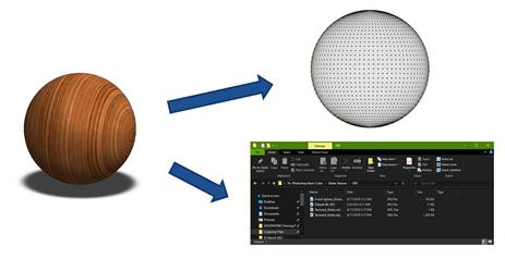 3D Printing Files OBJ and VRML Files