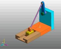 3D Slider Crank  link 4-3