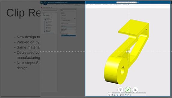 3DEXPERIENCE 3DStory Adjusting Images