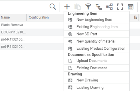 3DEXPERIENCE Adding Documentation to BOM-1
