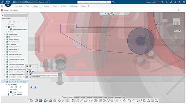 3DEXPERIENCE Completing the Sketch