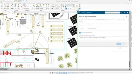 3DEXPERIENCE DraftSight Professional Role
