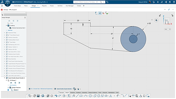 3DEXPERIENCE Isolating a Part