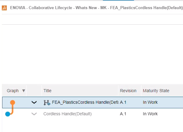 3DEXPERIENCE Plastic Injection Engineer Branch Revision
