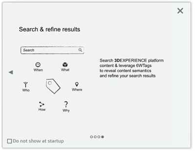 3DEXPERIENCE Search Functions