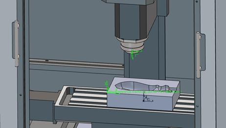 3DEXPERIENCE Shop Floor Machining Tormach Machine