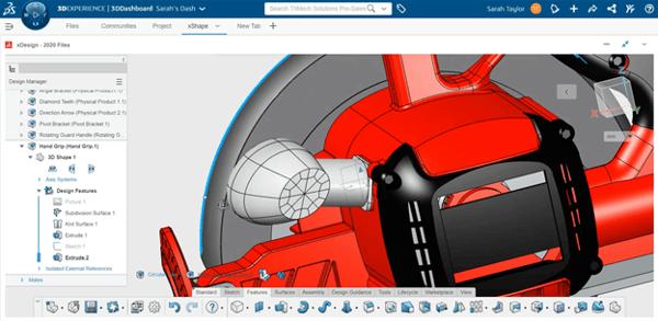 3DEXPERIENCE xDesign Elliptical Profile Extruded