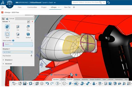 3DEXPERIENCE xDesign Elliptical Profile