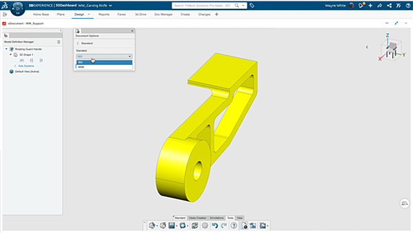 3DEXPERIENCE xDocument Changing from Metric to English