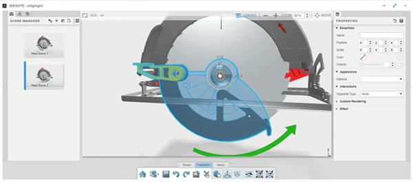 3DEXPERIENCE xHighlight Adjusting Position