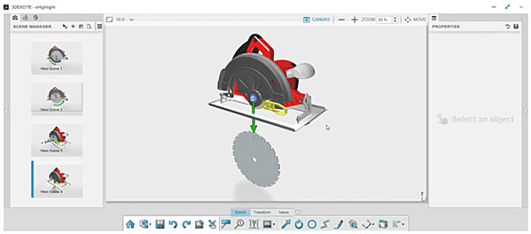 3DEXPERIENCE xHighlight Component Removal Illustration