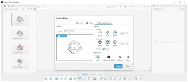3DEXPERIENCE xHighlight Exporting Illustrations