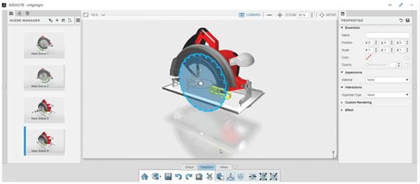 3DEXPERIENCE xHighlight Hiding Components