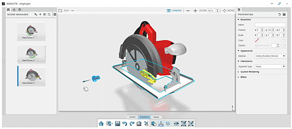 3DEXPERIENCE xHighlight Removing Components