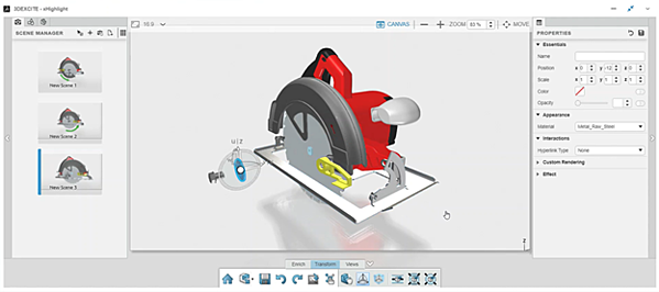 3DEXPERIENCE xHighlight Technical Illustrations