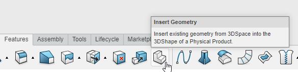3DEXPERIENCE xMold Insert Geometry