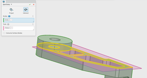 3DEXPERIENCE xMold Splitting Faces for Draft