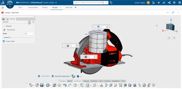 3DEXPERIENCE xShape Inserting a Primitive Shape