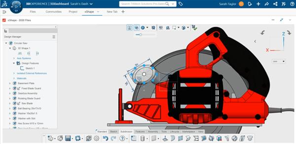 3DEXPERIENCE xShape Using Guide Image