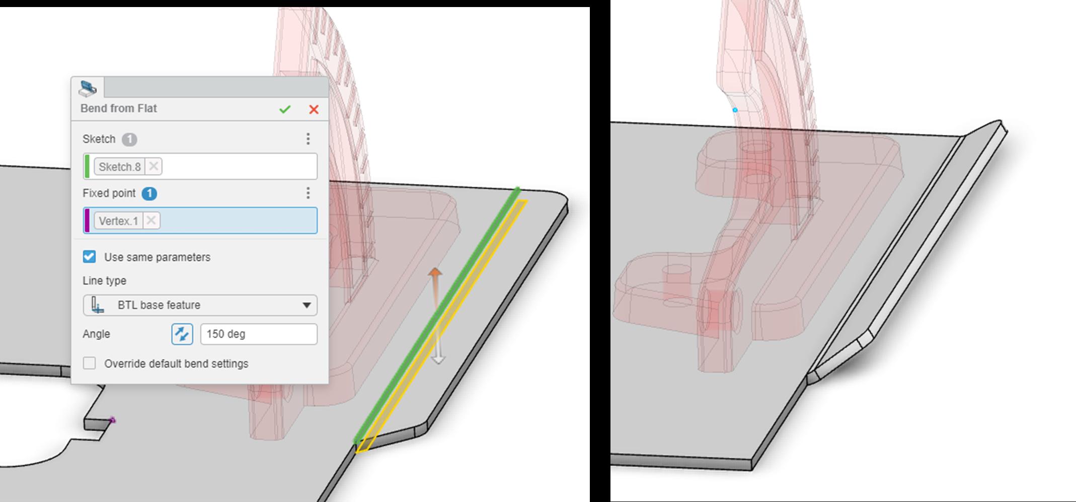 3DEXPERIENCE xSheetMetal Adding Bends to Your Design