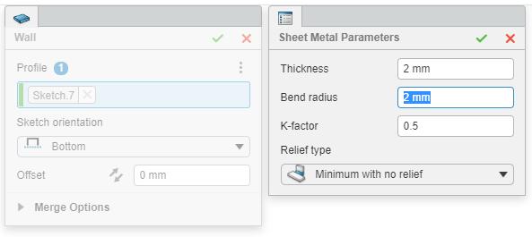3DEXPERIENCE Sheet Metal Bend Radius