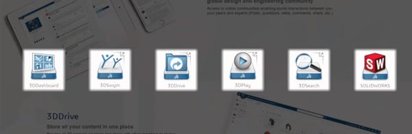 3DEXPERIENCE app icons