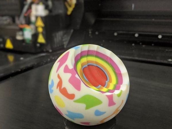 3D Printed Jawbreaker withStratasys J750