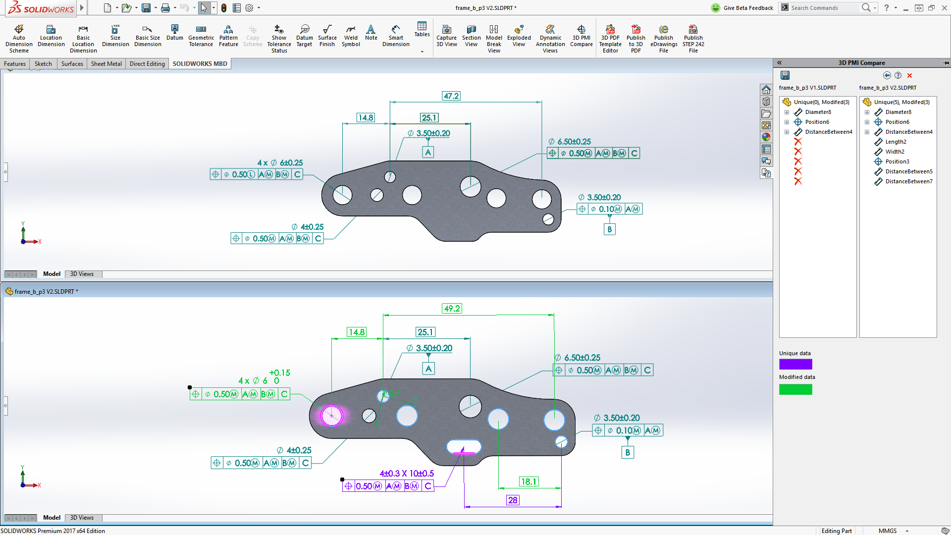 SOLIDWORKS MBD: Making 2D Orthographic Drawings Obsolete