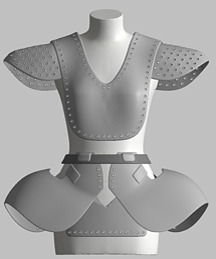 Artec 3D Scanned Fashion Template