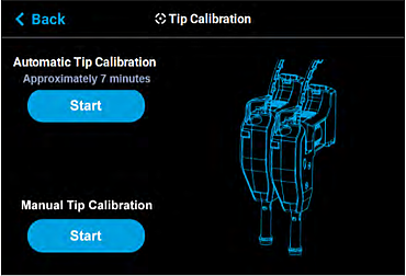 Automatic Tip Calibration