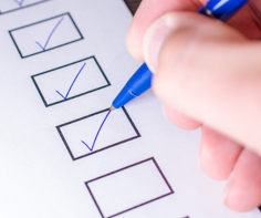Candidate Qualifications Checkbox