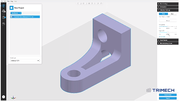 Advanced FDM Features in GrabCAD