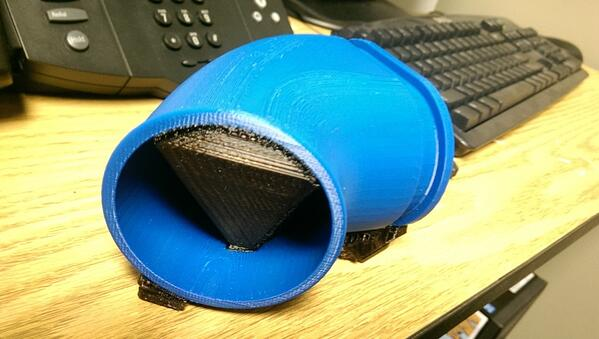 FDM 3D Printed Car Inlet