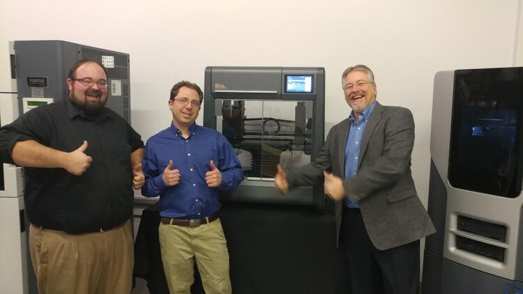 Desktop Metal Studio Printer Arrives in CT