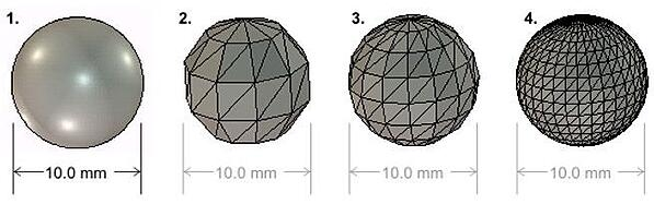 Different Sphere Sizes in SOLIDWORKS