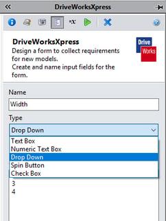DriveWorksXpress Dimensions