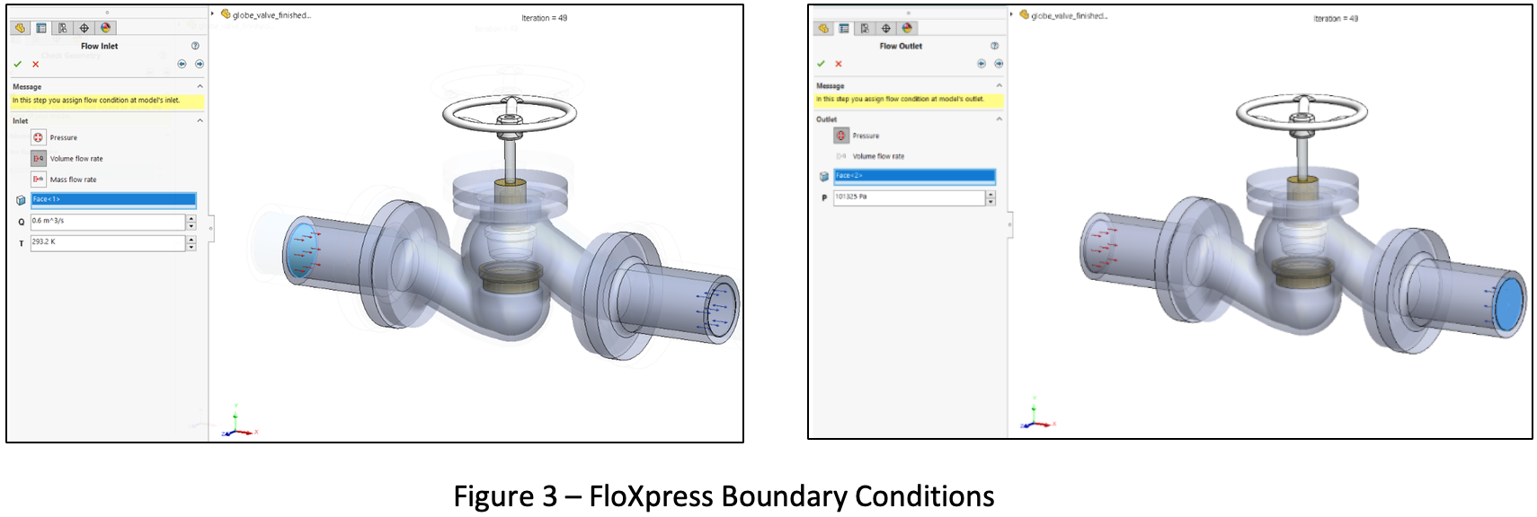 FloXpress Boundary Conditions
