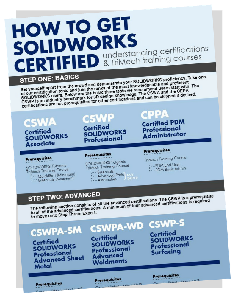 Get SOLIDWORKS Certified