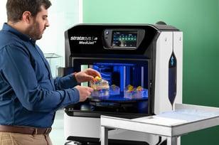 J5 Stratasys J5 MediJet Kidney Model Printer